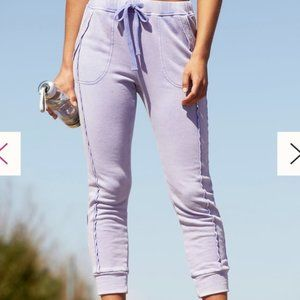 Free People Movement Work it Out lavender Joggers